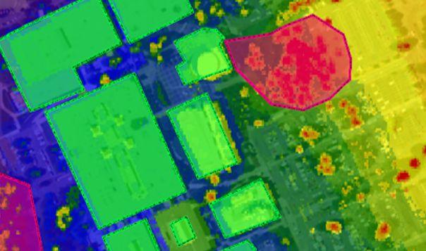 propagation analysis urban lidar